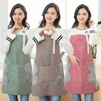 Strip Apron Waterproof Strip Apron Kitchen Cooking Adjustabl...