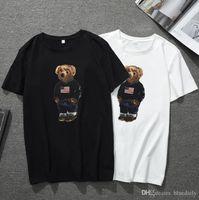 Moda impresa cerveza para hombre diseñador camisetas verano manga corta camisetas para hombres marea o cuello hombres camisetas