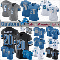 20 Barry Sanders Detroit