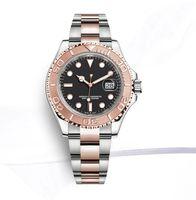 mens orologi di lusso 40 millimetri GMT 126.710 automatica orologio Batman Master 2 lunetta in ceramica Orologi di giubilari cinghia uomini guardare 2813 il movimento
