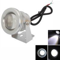 屋内LED 10Wのスポットライト900-1000LM 6000-7000Kピュアホワイトライト水中水槽プールの噴水LEDライトランプ