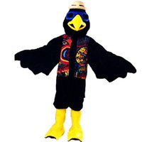 Indian Eagle Parrot Mascot Costume Cartoon Character Adult S...