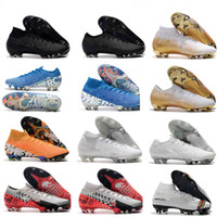 New 2019 mens soccer cleats Mercurial Superfly 7 Elite SG- PR...