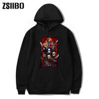 19 erkek tasarımcı hoodies Cadılar Bayramı Sıcak Satış serisi Baskılı Yuvarlak yaka Muhafız Giyim Boş kış tişörtleri DHBOWY20 gördü