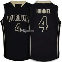 #4 Robbie Hummel Purdue Boilermakers College Retro Basketball Jersey Mens Stitched Custom Any Number Name Jerseys