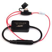 Coche de recepción de radio FM Antena señal de la antena Amp amplificador de potencia del amplificador de radio radio de coche Antenas 1 Set 12V Accesorios para el coche