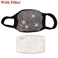 Bling Bling Designer Mask Sequins Protective Mask PM2. 5 Sexy...