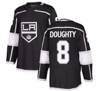 Los Angeles Kings # 8 DOUGHTY Black Home Sportlich genähtes Trikot, Herren White Road 11 KOPITAR 77 CARTER 99 Gretzky Hockey Trikots Online-Shop