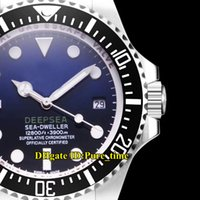 Cheap Sea- Dweller 44mm 116660- 98210 116660 D- Blue Dial Miyot...
