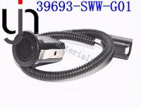 Sensores de estacionamiento para automóviles 39693SWWG01 39693-SWW-G01 para CRV, envío gratis, color negro blanco plateado, sensor ultrasónico, sensor automático
