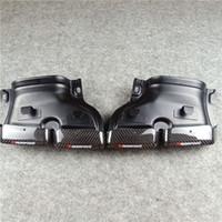 Bir Çift Egzoz Sistemi Benz C E S CLS GLC GLE GLS Sınıfı W205 W166 C63 S63 GLE63 Gerçek Karbon Egzersiz İpuçları Tailbipe Nozullar