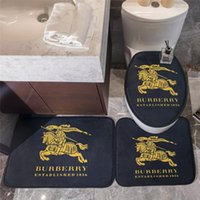 Classic Non- slip Bathroom Mat with Letter Print Fashion Home...