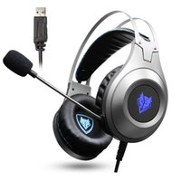 Nubwo 7.1 Gaming luminoso cuffie PC Gamer Bass auricolare con microfono per la cellula Phone PS4 N2U cuffie da gioco USB con luce a LED per computer