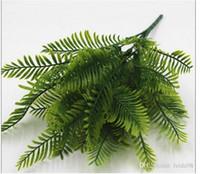 Bruiloft decoraties, kunstbloemen, groene varens, imitatieplanten, Perzisch gras 30pcs / lot L108