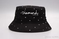 2019 Diamonds marca chapéus balde folha floral dos homens Caça pesca desportiva hiphop prumos gorras ossos bonés Pescador