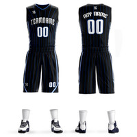 Men Youth kids Basketball Jerseys Breathable Match Suit Coll...