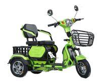 الترفيه الركاب للبالغين دراجة ثلاثية العجلات الكهربائية الأسرة تاكسي توك توك سكوتر