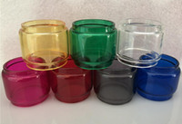 7 Colored Colorful Extended Convex Bubble Bulb Fat Boy Pyrex...