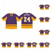 24 Bryant Los Angeles Purple Or Final secondes Kuzma Caldwell-Pope Davis James Johnson Johnson O'Neal Baseball Jersey