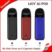 Kit originale iJoy AI Pod 450mAh Starter Kit 2ml Capacità integrata Sistema baccello All-in-one Cartuccia Vape Vaporizzatore