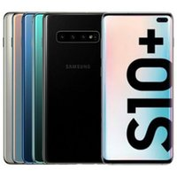 Recuperado Original Samsung Galaxy S10 + S10 Além disso G975F G975U 6,4 polegadas Octa Núcleo 8GB de RAM 128GB ROM 16MP 4G LTE Desbloqueado Android 10pcs telefone