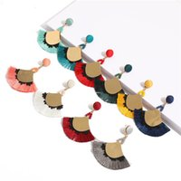 Tassel Earrings Female 2018 New Style Hot Sale Earrings Europe United States Bohemian Earrings Creative Personality Small Jewelry Women Gift