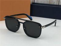 새로운 패션 여성 선글라스 플레이어 1023 남성 선글라스 간단하고 관대 한 사람 태양의 경우 야외 UV400 보호 안경 안경