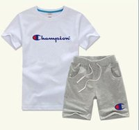 2019 Brand Kids Sets 2- 9T Children T- shirts And Shorts Pants...