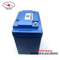 4S12P LiFePO4 12V 40Ah bateria Güneş Sistemi, UPS, Elektrikli Bisiklet için de litio Lityum Batarya Paketi