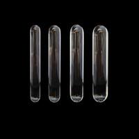 Kristallglas Sexspielzeuge glatt Dildo für Solo-Spiel Masturbation Qualität Muschi Vaginal Massagerstock Cunt Massage Anal Butt Plug