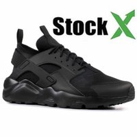 2020 Huarache 1.0 4.0 Run Ultra SE IV Homens Running Shoes Triplo Black Red White Leve Atlético Sport Mulheres Huraches Sneakers
