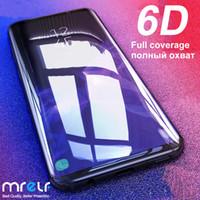 6D-tempererat glas för Samsung Galaxy A50 A70 A40 A10 Skärmskydd Skydd på skyddsglas för Samsung A50 A10 A70 A40S M20 M30