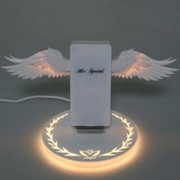 Wireless Charge Dock 10W Angel Wings 3. 0 Fast Charger Type C...