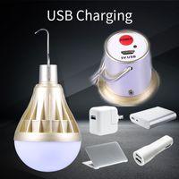 حار بقيادة مصباح الذكية لمبة LED ضوء Bombillas حقنة المصابيح مصابيح USB قابلة للشحن الرئيسية أضواء لمبات الطوارئ للتخييم الإضاءة