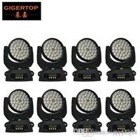 Kafa Yıkama 36x10W Sahne Işıkları Gigertop Üretici Hareketli 8 birimleri Güç mısır Yok Yakınlaştırma LED Freeshipping