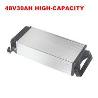 Мощный 30AH корпус из алюминиевого сплава высокого качества 48В литиевая батарея для 750 Вт 1000 Вт 1200 Вт двигателя с 3A зарядным устройством
