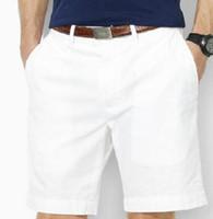 lauren ralph polo Ralph lauren 뜨거운 여름 남성 솔리드 작은 말 남성 조랑말면 높은 품질 수영복 피트니스 일반 스포츠 트렁크 짧은 바지 크기 S-XXL 화이트 새