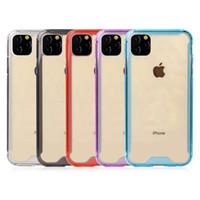 Klar stoßfest Fall für iPhone 11 Pro Max SE2 7 8 Plus x xr xs max Samsung Galaxy S10 Plus-Note 10 note10