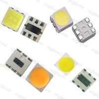 LED Besds Высокая яркость 2000pcs / серия SMD 5050 холодный белый Чип светодиодными Lam Besds для 5050 Светодиодные полосы огни ленты DHL