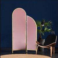 Schermi Pieghevole Mobile Room Divisori da letto Camera da letto Semplice Parete Mobile Parete Light Luce Schermo europeo di lusso Piccola casa
