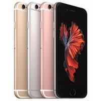 Recuperado iPhone original 6S da Apple 4,7 polegadas com impressão digital IOS A9 2GB de RAM 16/32/64 10pcs / 128GB ROM 12MP 4G LTE telefone gratuito DHL
