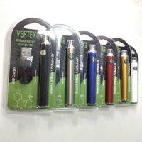 Vertex CO2 VV vorheizen Batteriekits LO Öldampferer 510 V-Vape-Stift Vorheizen 900mAh Ce3-Kassette