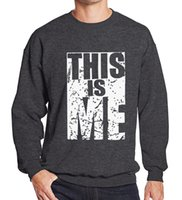 Sweatshirt This Is Me Letter Printed 2019 Spring Winter Hip ...