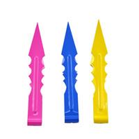 다채로운 금속 기어 물 담뱃대 숯불 집게 Shisha Tweezer 폴더 흡연 파이프 펜치 도구 클립 액세서리 VT0173