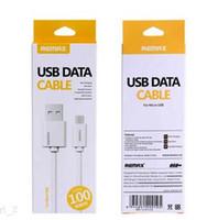 Hot Remax Micro USB de type C téléphone portable Câble Câble Chargeur rapide pour Samsung HTC LG avec blanc boîte détail
