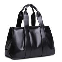 9a6f9d2be566 New Arrival. Cowhide Leather Handbag 2016 Vintage Simple Bags For Women  Large Shoulder Bags Messenger Bag Pt676