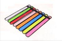 Bracciale Flash of Light Slap Wrist Strap Wristband creativa LED giocattoli per bambini TLZYQ780 LED d'ardore fascia di braccio Fashion Design Equitazione notte Attenzione