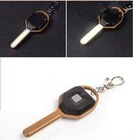 novely chave forma lanternas Mini LED keychain anel chave da lâmpada cadeia torchs desbloquear luzes escalada botão tocha pesca mosquetão