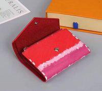 Zoe portefeuille M62932 Femme Cuir Portefeuille Portefeuille Portefeuilles Porte-monnaie compacte Porte-clés de soirée