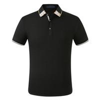 Poloshirt Solid T Shirt Men Luxury Мужской Tee с коротким рукавом Мужская Basic Top хлопчатобумажных Polos Для мальчиков Бренд Дизайнер Пол